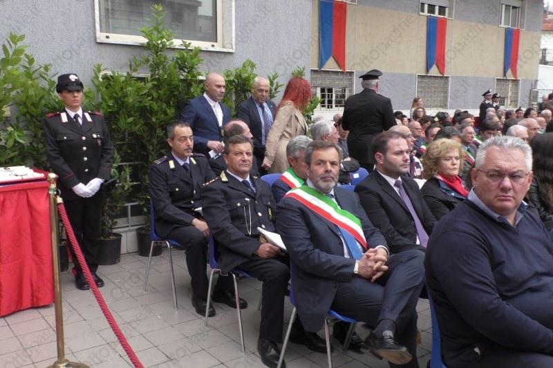 Il Corpo di Polizia Municipale di Benevento partecipa alla 205^ Festa dei Carabinieri