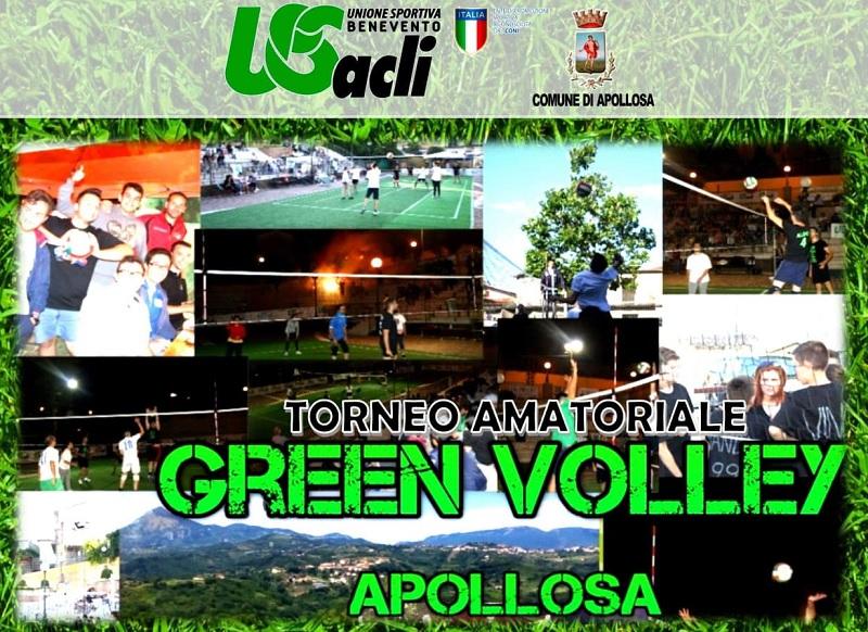 Domenica 30 giugno la cerimonia di apertura del Torneo di Green Volley ad Apollosa