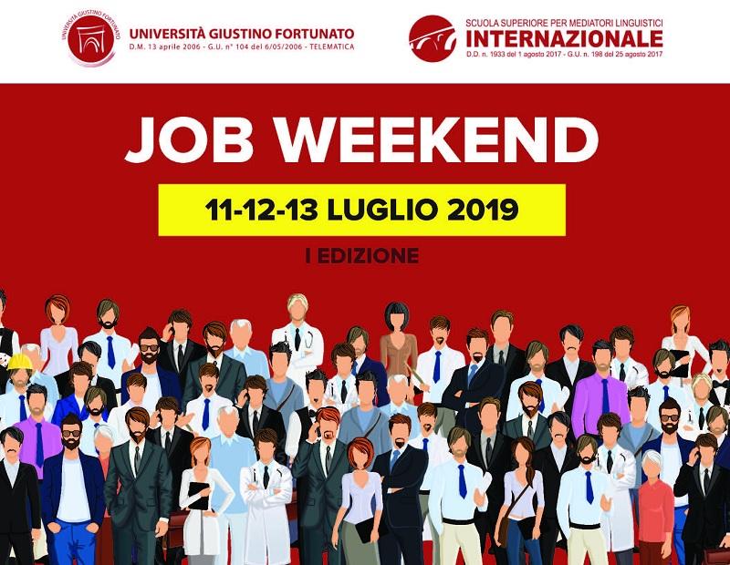 Multinazionali al primo Job Weekend dell'Unifortunato