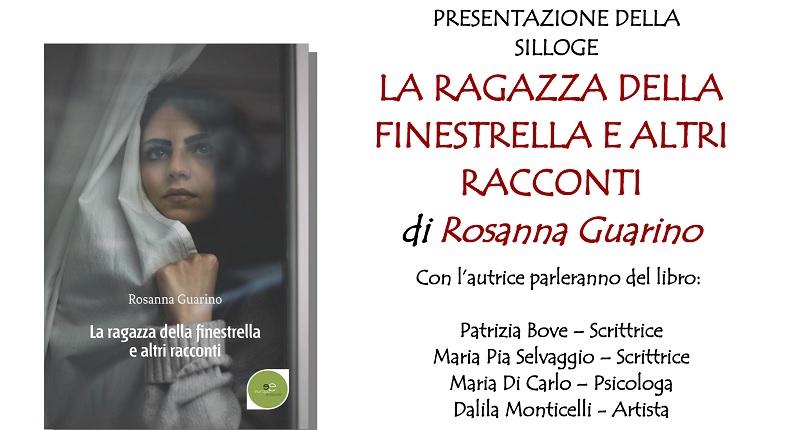 """""""La ragazza alla finestrella e altri racconti"""" di Rosanna Guarino: presentazione a Cerreto Sannita"""