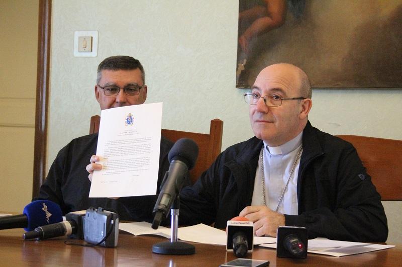 Papa Francesco plaude all'iniziativa promossa dai Vescovi  della Metropolia di Benevento