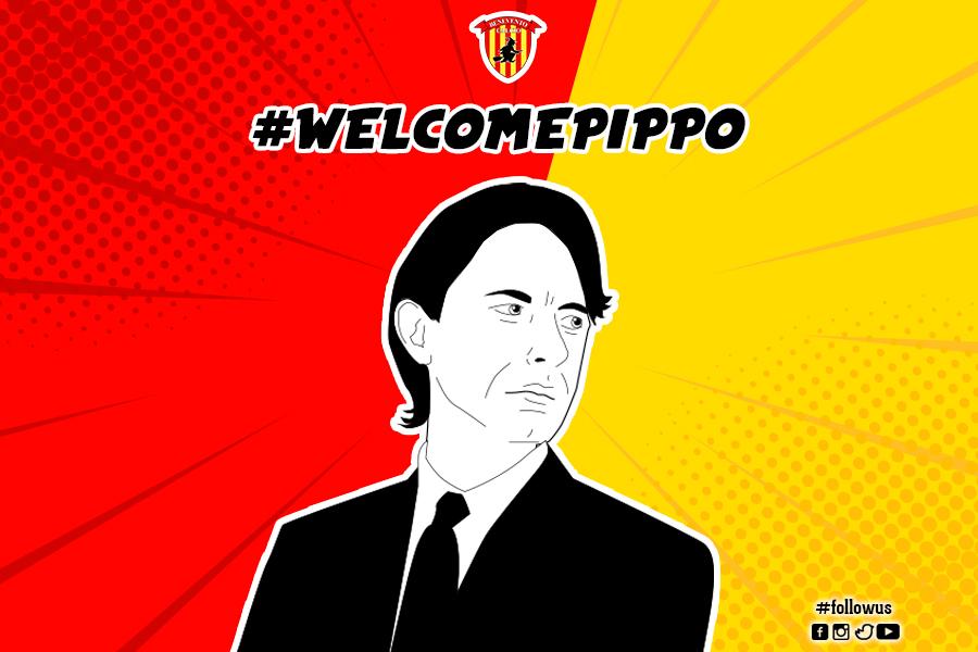 Benevento Calcio. E' ufficiale, a Pippo Inzaghi la guida tecnica del Benevento