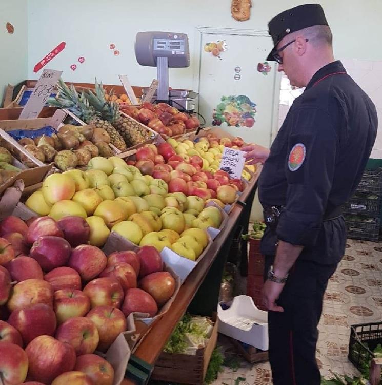 Sicurezza alimentare. Sequestrati 200 Kg di prodotti alimentari