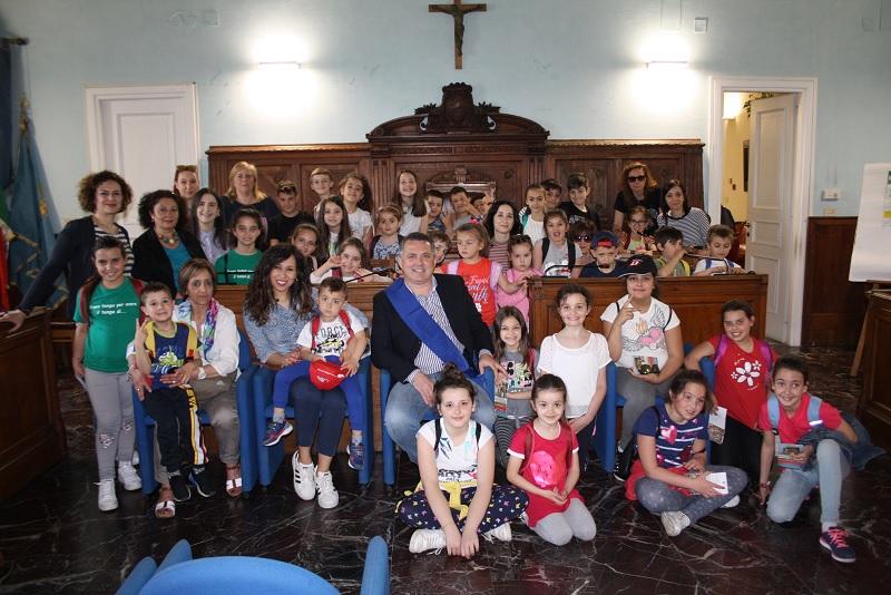 I bambini di Santa Croce del Sannio visitano i Musei di Benevento.