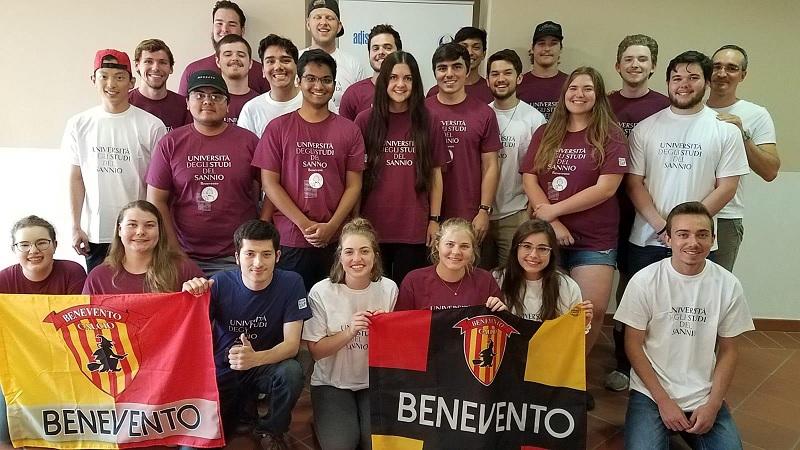 All'Unisannio gli studenti della Texas Tech University