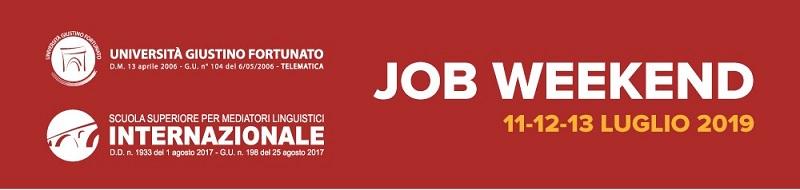 Il Primo Job Weekend dell'Unifortunato con le Multinazionali nei giorni 11 – 12 – 13 Luglio