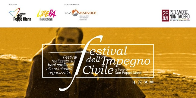 Festival dell'Impegno Civile nel Sannio. Lunedì 8 Luglio conferenza di lancio