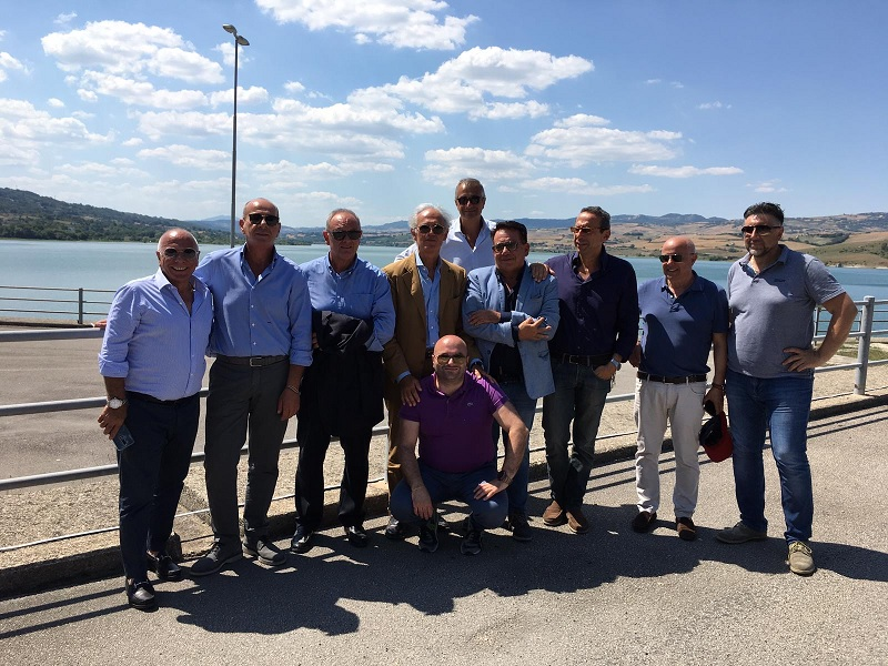 Potabilizzazione acqua diga Campolattaro, visita a Conza per tavolo tecnico.