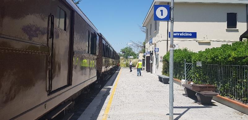 """""""Sannio Express"""", treno della Falanghina del Sannio da Napoli a Morcone. Ennesimo flop!"""