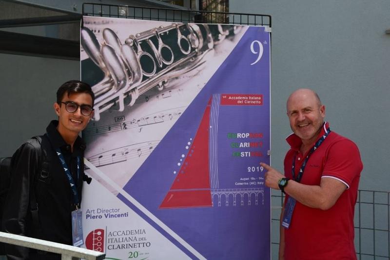 """Il Concorso Samnium – Città di Benevento – all'European Clarinet Festival di Camerino con i vincitori del Premio """"Sisillo"""""""