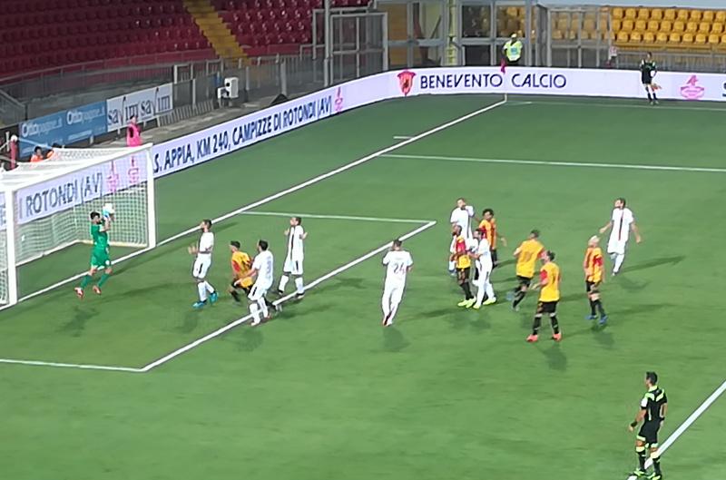 Il Benevento esce dalla Tim Cup perdendo in casa con il Monza 3-4