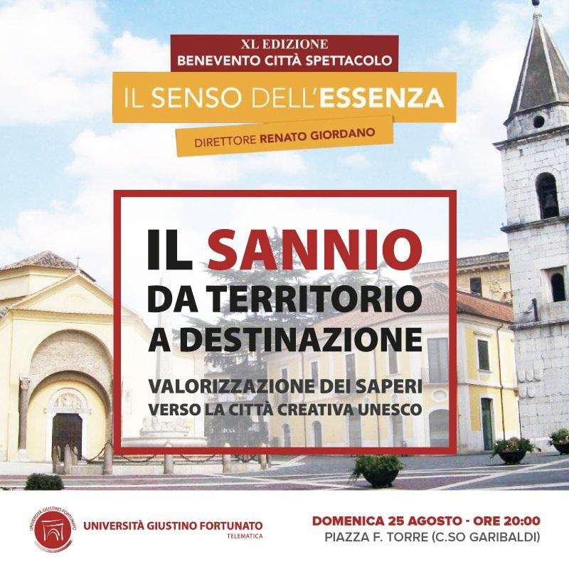 """UniFortunato  Presenta: """"Il Sannio da Territorio a Destinazione"""""""