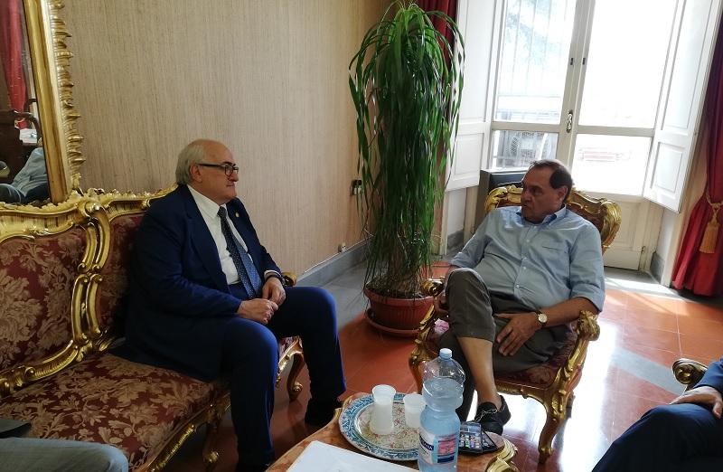 Ferrante neo Direttore Generale del San Pio, ricevuto dal sindaco Mastella