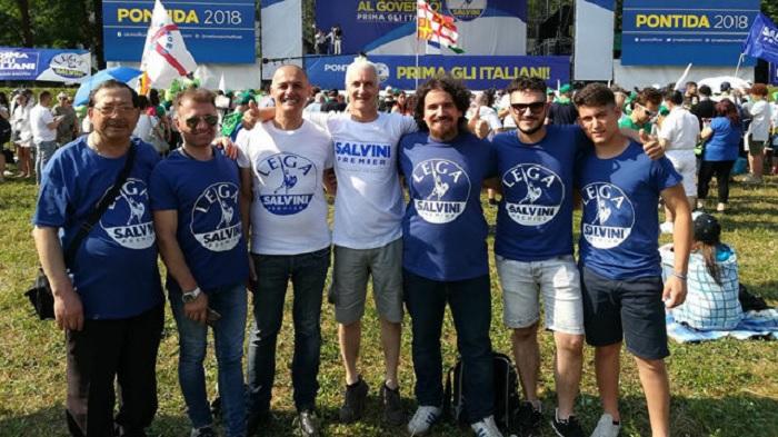 """Il gruppo autonomo leghista di Benevento con il leader Salvini: """"Elezioni Subito. Siamo pronti alle barricate"""""""