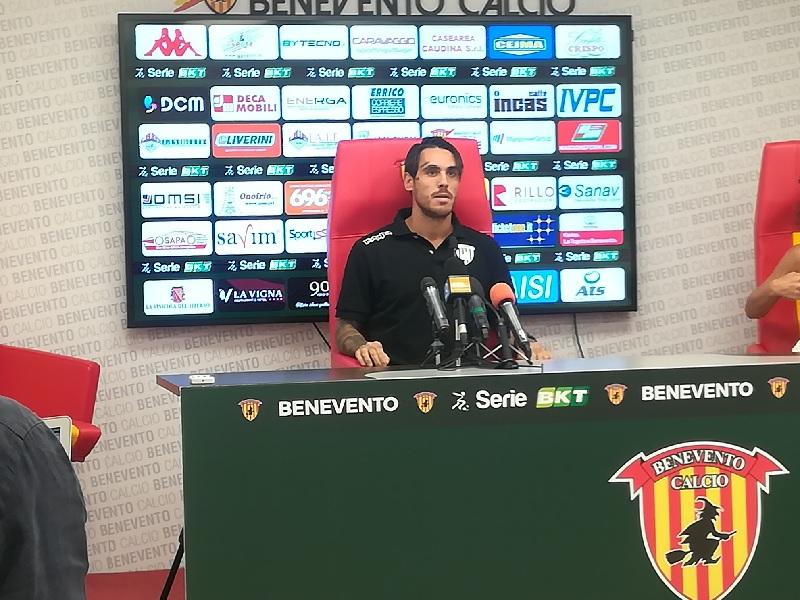 Benevento Calcio. Conferenza stampa pre partita affidata a Nicolas Viola