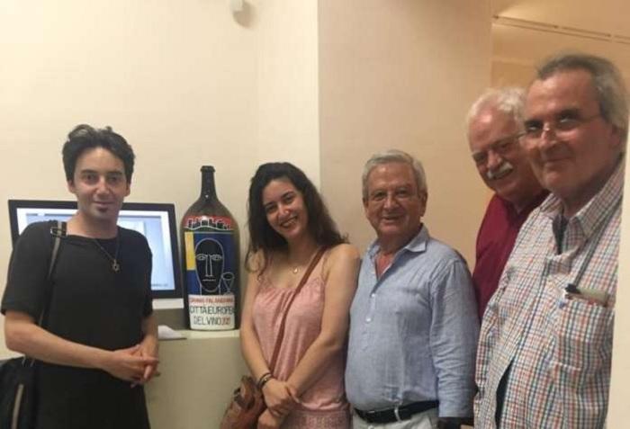 Sannio Falanghina premia due artisti iraniani. I due fratelli Amir e Vishka Sabet Azar