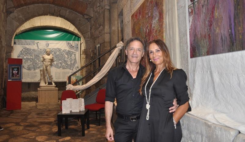 Inaugurata a Porta Somma di Benevento la mostra di arte contemporanea di Delli Veneri e Ricciuto