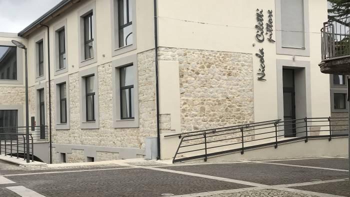 """Riapre la scuola """"Nicola Ciletti""""di San Giorgio La Molara, chiusa nel 2002 dopo il terremoto in Molise"""