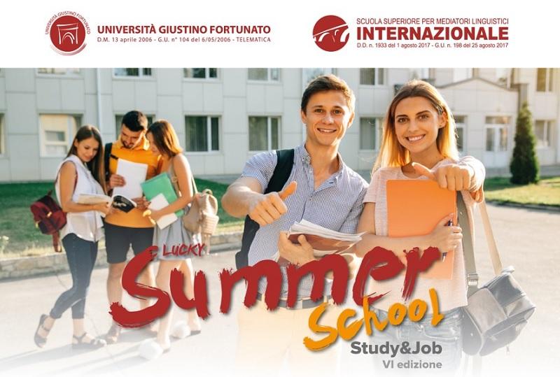 Summer School all'Unifortunato dal 2 al 7 Settembre