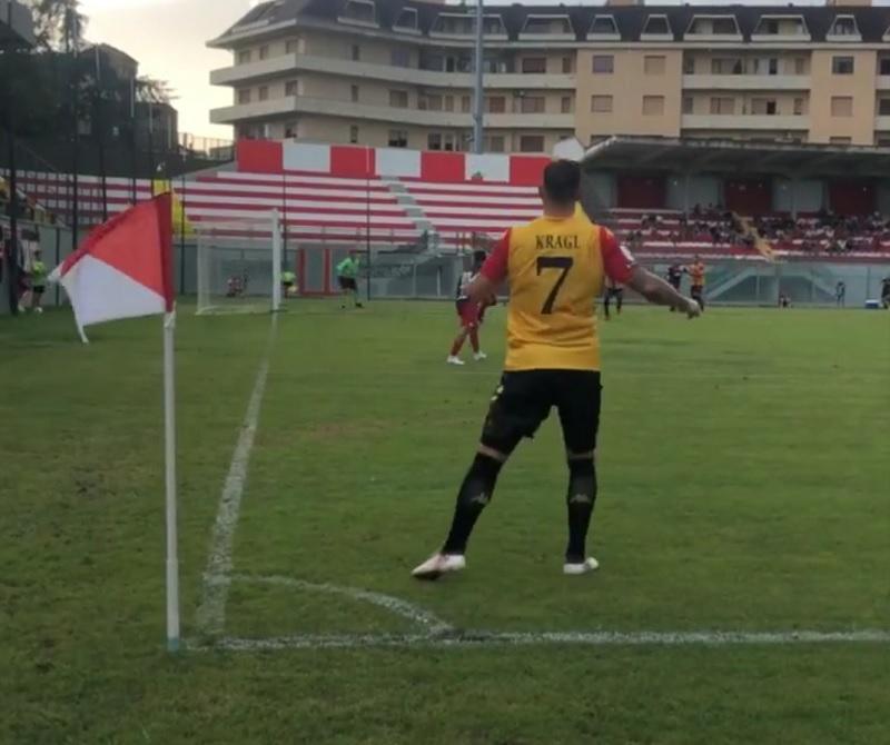 Il Benevento pareggia anche a Vasto, difesa ancora in panne