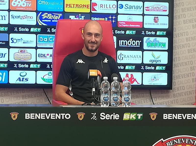 Benevento Calcio. Conferenza stampa prepartita: la parola a Caldirola