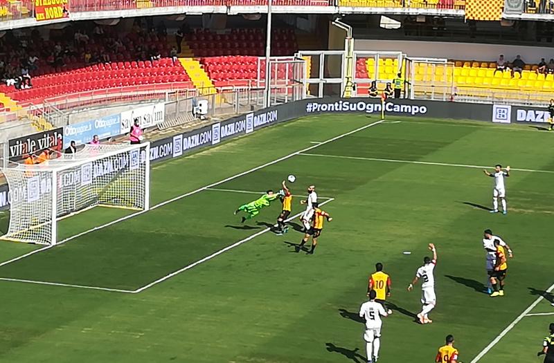 La pazienza del Benevento alla fine la spunta. Benevento 1 Cosenza 0
