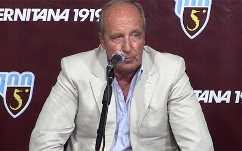 """I nostri avversari : la Salernitana. Ventura : """" Abbiamo tanto rispetto del Benevento """""""