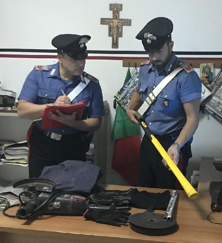 Paupisi. Quattro pregiudicati baresi bloccati dai Carabinieri