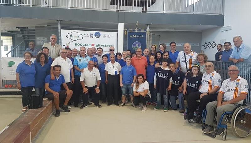 Bocciamo gli Ostacoli, un grande pomeriggio di sport e inclusione sociale a Castelvenere