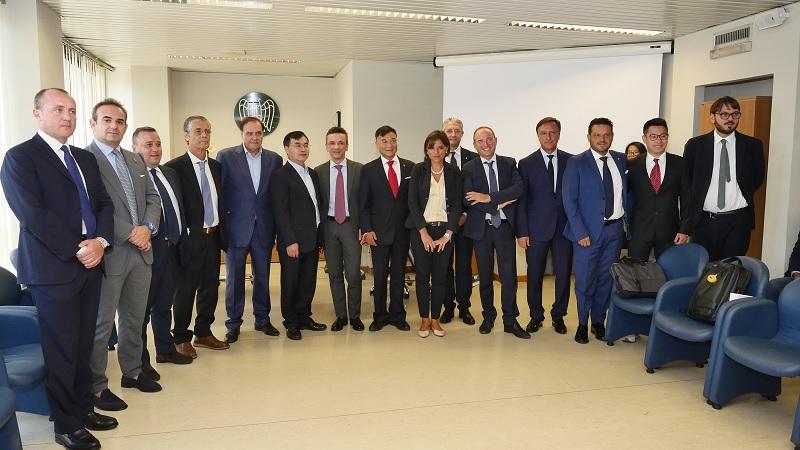 Investitori Cinesi a Benevento. La filiera istituzionale unita per un'importante azione di marketing territoriale