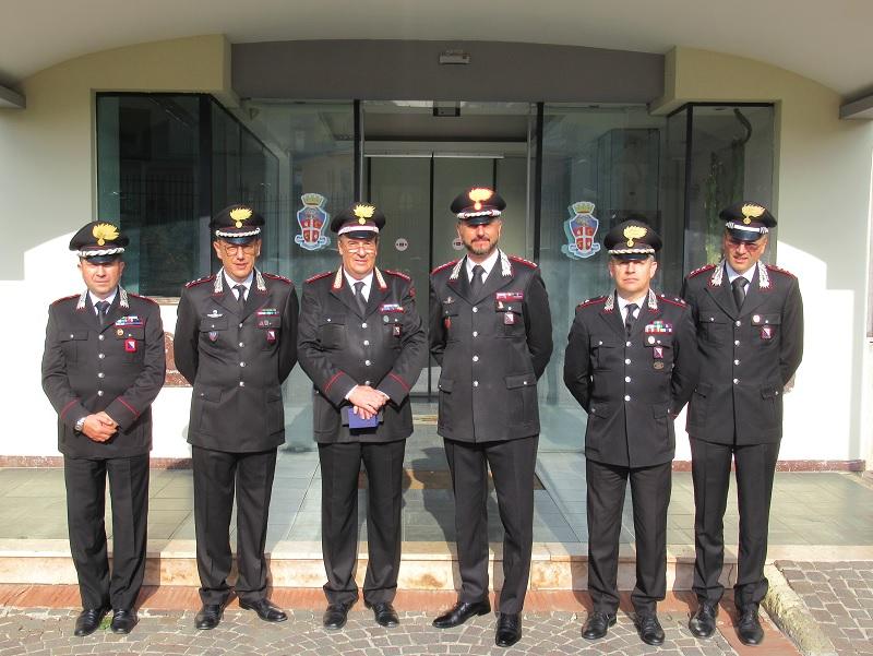 Va in congedo dopo 48anni nell'Arma il Luogotenente Antonio Lombardo comandante  di Sant'Agata de Goti