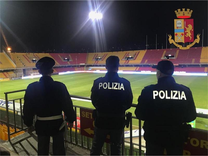 Match Benevento-Cittadella, il Questore emette un DASPO