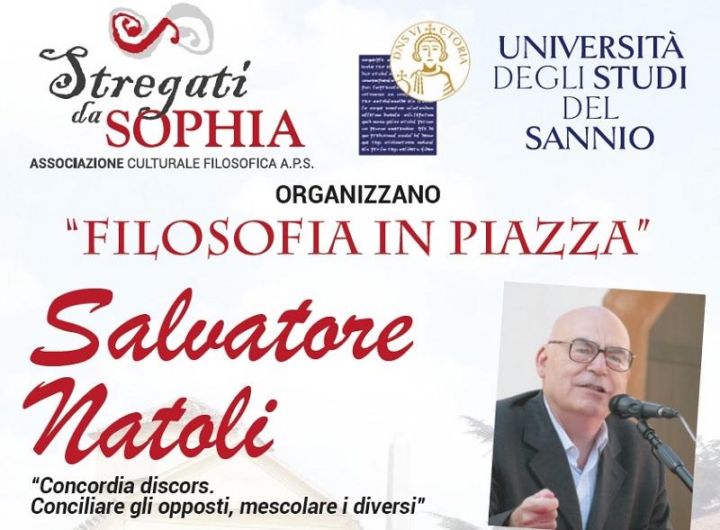 """"""" Stregati da """" Sophia"""": il 6 Settembre primo incontro di """"Filosofia in Piazza"""""""