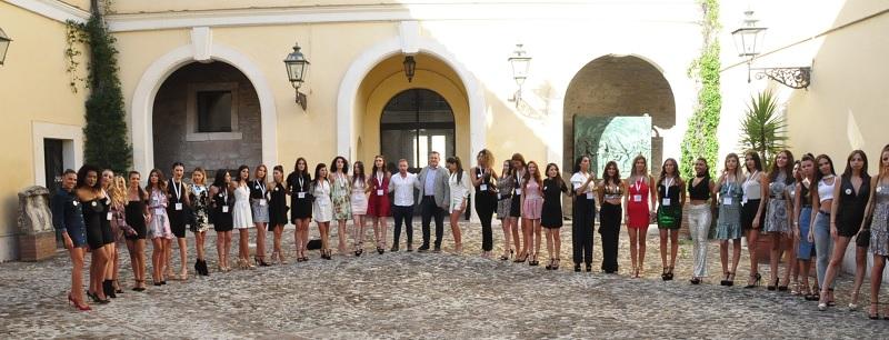 Le Finaliste di Miss Grand International alla Rocca dei Rettori
