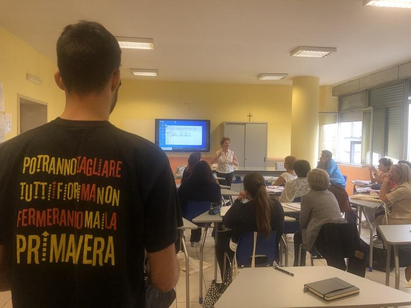 Al via ieri, per la prima volta a Benevento, la formazione docenti promossa da Libera
