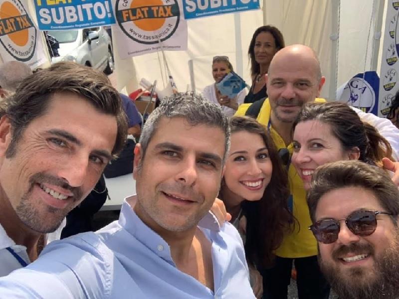 """Governo, Lega-Benevento: """"Gazebo nel week end per raccogliere firme contro il governo delle tasse e dell'invasione"""""""