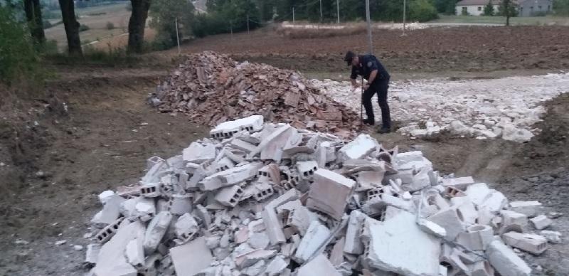 Castelpagano. Sequestro dei Carabinieri Forestali per gestione illecita di Rifiuti