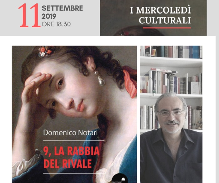 """La Fondazione Gerardino Romano presenta il libro """"9, la rabbia del rivale"""" di Domenico Notari"""