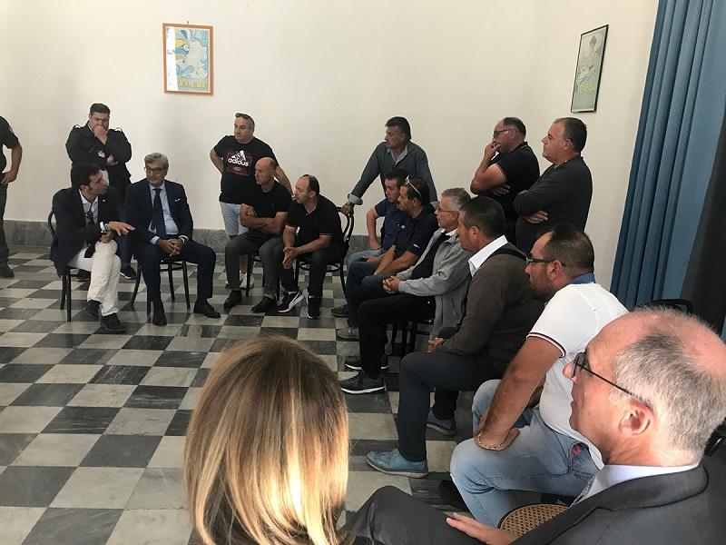 Mortaruolo incontra a Telese Terme i rappresentanti sindacali e i lavoratori di Samte
