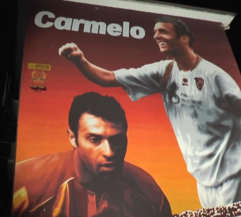 Nel ricordo di Carmelo Imbriani i tifosi hanno voluto un'emozione senza fine