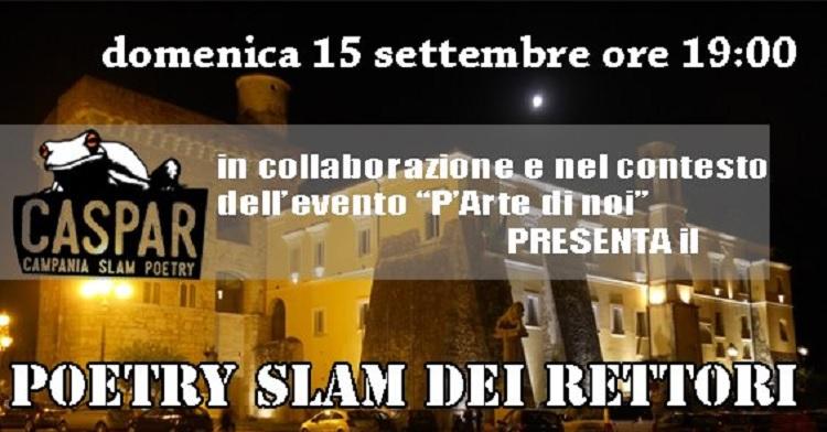 Stasera primo incontro di poetry slam della stagione 2019/20 : i primi due accederanno alla semifinle regionale