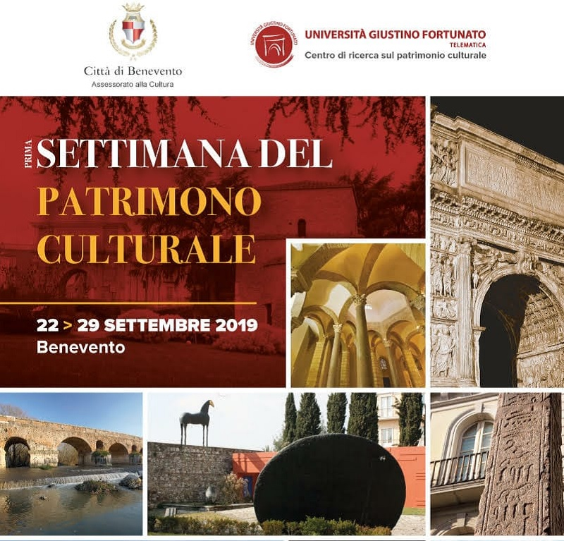 Settimana del Patrimonio Culturale, lunedì 16 settembre la presentazione alla stampa