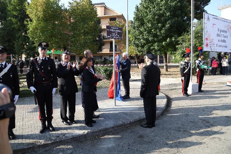 San Giorgio del Sannio. Intitolata piazza all'appuntato medaglia d'oro al valor civile Gennaro Sorricelli