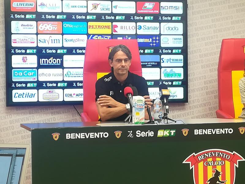 """Incontro di cartello Benevento – Perugia. Inzaghi : """"Perugia forte ma possiamo fare nostra la partita"""""""