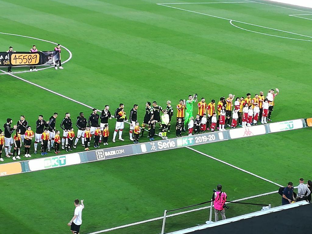 Benevento piu' forte di tutto. Benevento 1 Perugia 0