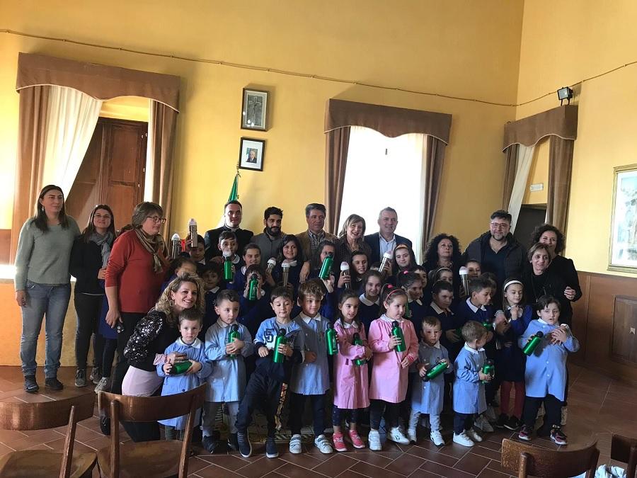 """Progetto """"Plastic free"""", a Santa Croce del Sannio  anche Antonio Di Maria"""