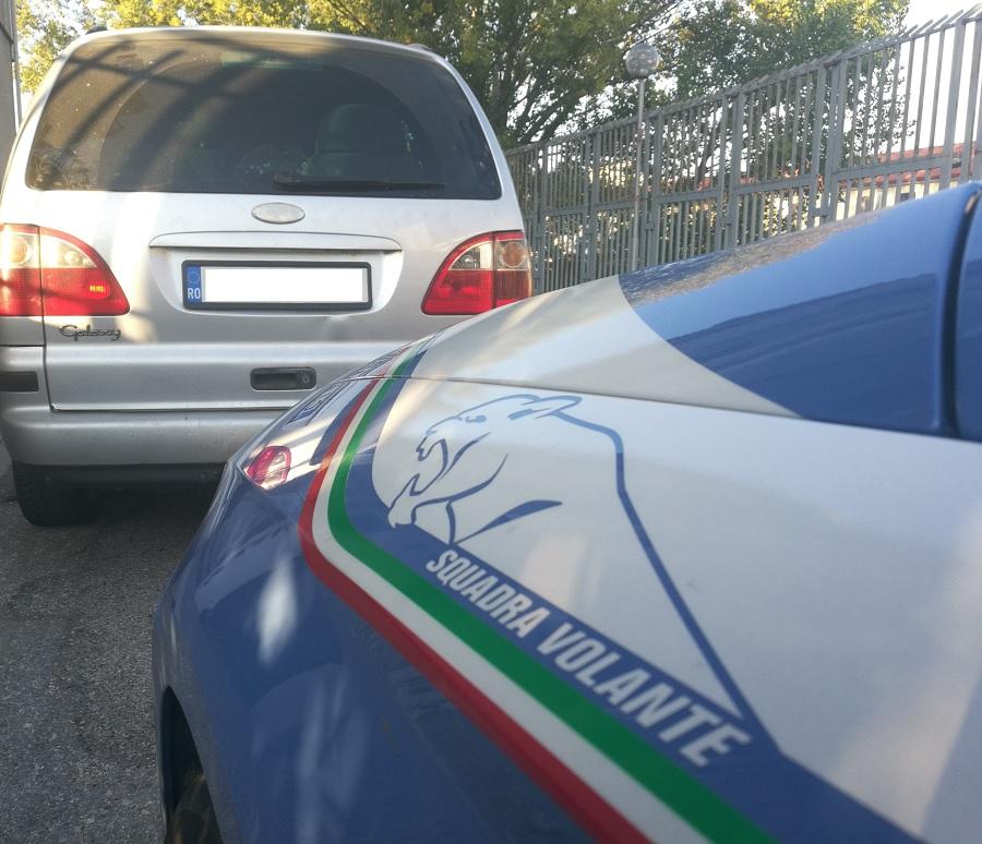 Tentano di eludere controllo.Denunciati dalla Polizia di Stato due cittadini rumeni.