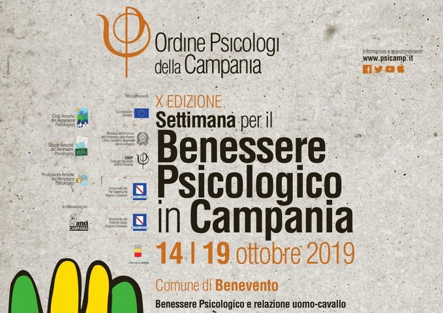 Dal 14 al 19 Ottobre la X Edizione della Settimana del Benessere Psicologico