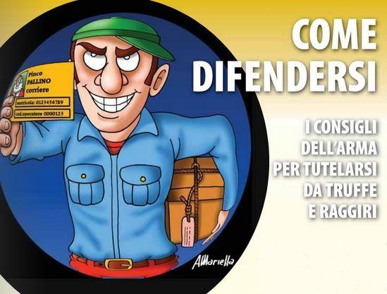 """Carabinieri : """"Truffe agli anziani, come evitarle. Come aiutarci ad aiutarvi"""""""