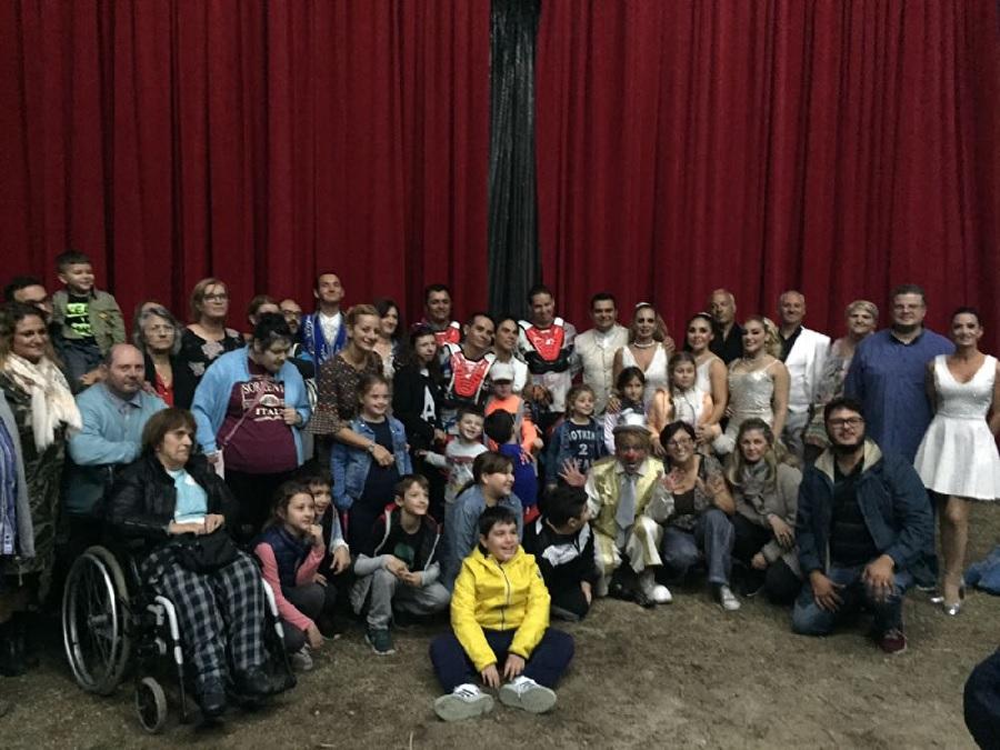 Compagnia San Pio: pomeriggio al circo per le famiglie con disabili